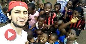Afrikalı Çocukların Bartın'a Selamı Var