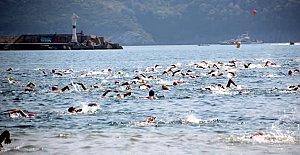 Amasra Yüzme Maratonu Nefes Kesti