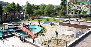 Gazhane Parkı Açılışa Hazırlanıyor