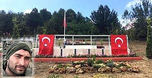Şehit Ayhan Erdoğan'a yeni kabir
