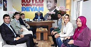 Turhan Kalaycı'ya Tebrik Ziyaretleri