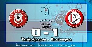 Bartınspor'dan Tek Gol, 3 Puan: 0-1