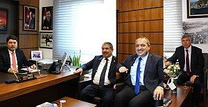 Başkanlardan Vekil Tunç'a Ziyaret