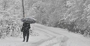 İlk Kar Yağdı, Meteorolojiden Yeni Uyarı Geldi