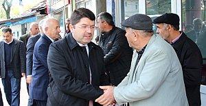 Milletvekili Tunç, Kozcağız'da