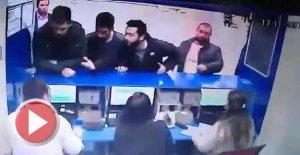 Otogarda, Kızkardeşime neden bilet sattın kavgası
