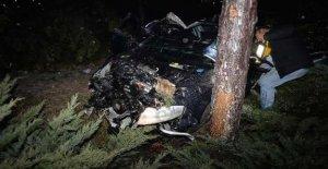 Alkollü sürücü kaza yaptı: 1 ölü, 1 yaralı