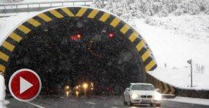 Bolu Dağı'nda TIR'ların geçişine izin verilmiyor