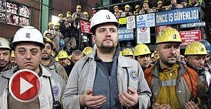 Madenciler dualarla iş başı yaptı