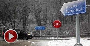 Beklenen Kar Yağışı Başladı