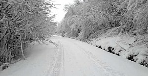Ulus'ta Kardan Kapanan Yollar Açıldı