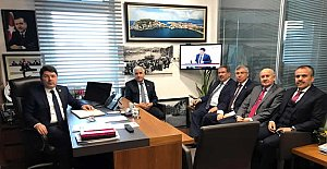 Başkanlardan Tunç'a Ziyaret