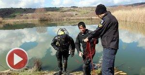 36 gündür kayıp olan şehit babası su altında aranıyor
