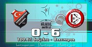 Bartınspor Gol Oldu Yağdı: 0-6