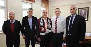 Hamidi'den Bartınspor'a Destek
