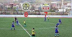 Kumluca Kozcağız'ı Gole Boğdu: 7-0