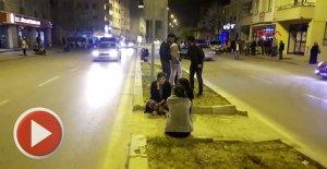 4.9'luk deprem vatandaşları sokağa döktü