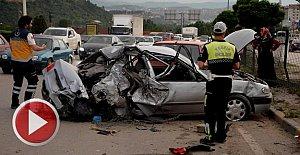 İftar Yolunda Feci Kaza: 7 yaralı