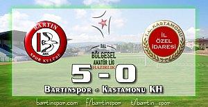 Bartınspor'dan Gol Şov: 5-0