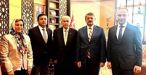 Başkan'dan Devlet Bahçeli'ye Ziyaret