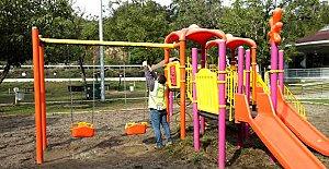 Karacay Çocuk Parkı Bakımdan Geçiyor
