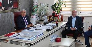 Bartınspor Başkanından Dursun'a Ziyaret