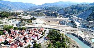 Kozcağız Barajının Gövde İnşaatı Başladı