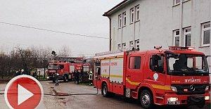 Özel Eğitim Merkezinde Yangın