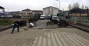 Stadyum Sokakta Çalışmalar Tamamlanıyor