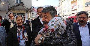 Başkan Kumluca'da