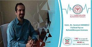 Dr. Sermet HAMZELİ göreve başladı