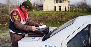 Jandarma'dan Kaçtı, Kaza Yaptı, Rekor Ceza Yedi