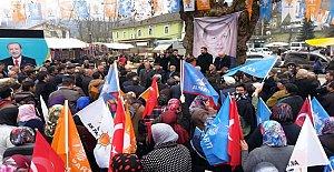 Ak Parti Hasankadı Seçim Bürosu Açıldı