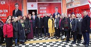 MHP Abdipaşa Seçim Bürosu Açıldı