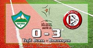 Bartınspor'a Bursa'dan 3 Puan: 0-3