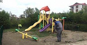Orduyeri Çocuk Parkı Onarılıyor