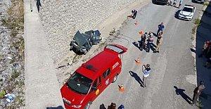Bartın'a tatile gelen aile kaza yaptı: 1 Ölü, 4 Yaralı