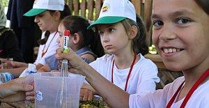 Köylü Çocuklar Bilim ve Sanatla Buluştu