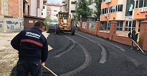 Kemerköprü'de Sokaklar Asfaltlanıyor