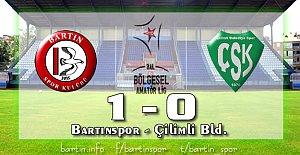 Bartınspor'un Yükselişi Sürüyor: 1-0