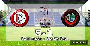 Bartınspor'dan Muhteşem Geri Dönüş: 5-1