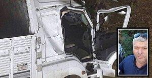 Devrilen Kamyon Sürücüsü Öldü