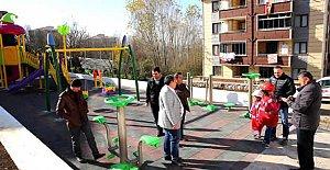 Karaköy'deki Oyun Parkı Tamamlandı