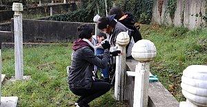 Osmanlı Mezar Taşları Araştırılıyor