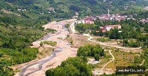 Kumluca'ya 2 Km Taşkın Koruma