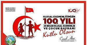 Ulusal Egemenliğimizin 100.Yılı Kutlu Olsun