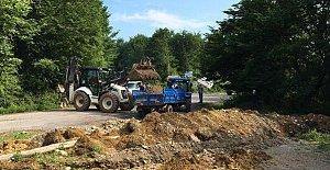 Kapatılan Köy Yolları Açıldı