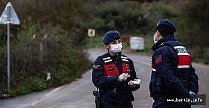 Jandarma, Maskesiz Gezenlere Ceza Yağdırdı