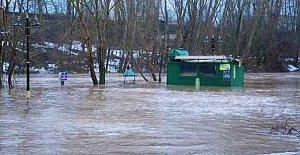Bartın'da Sular Yükseldi, Vatandaşlar Uyarıldı