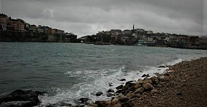 Amasra'da 3 Kuru Yük Gemisinin Zor Anları